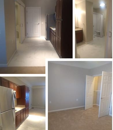 Two Bedroom Layout - Senior Living
